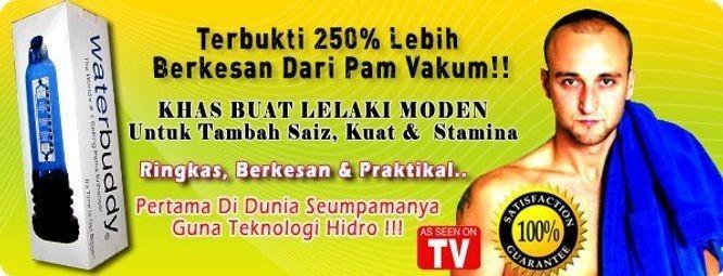 Water Buddy Malaysia | CARA BESARKAN ZAKAR Rk3yxX