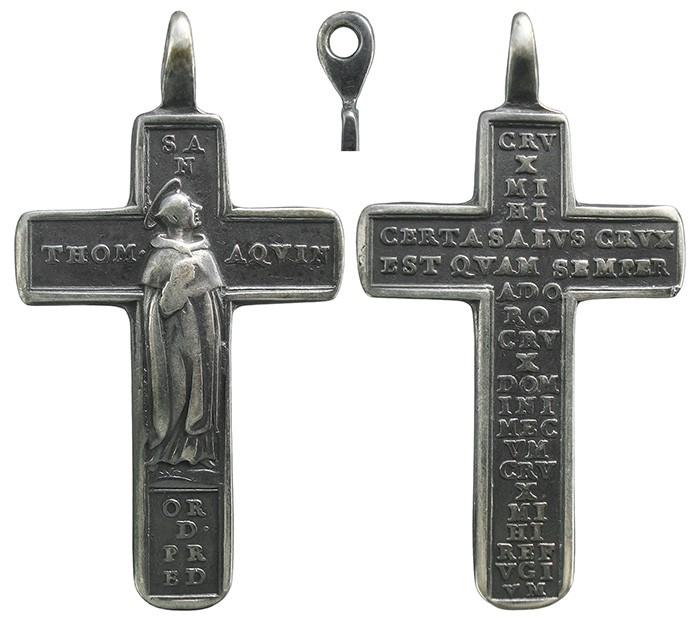 Santo Tomás de Aquino / Oración de Santo Tomás - MR722 Ruz0rl