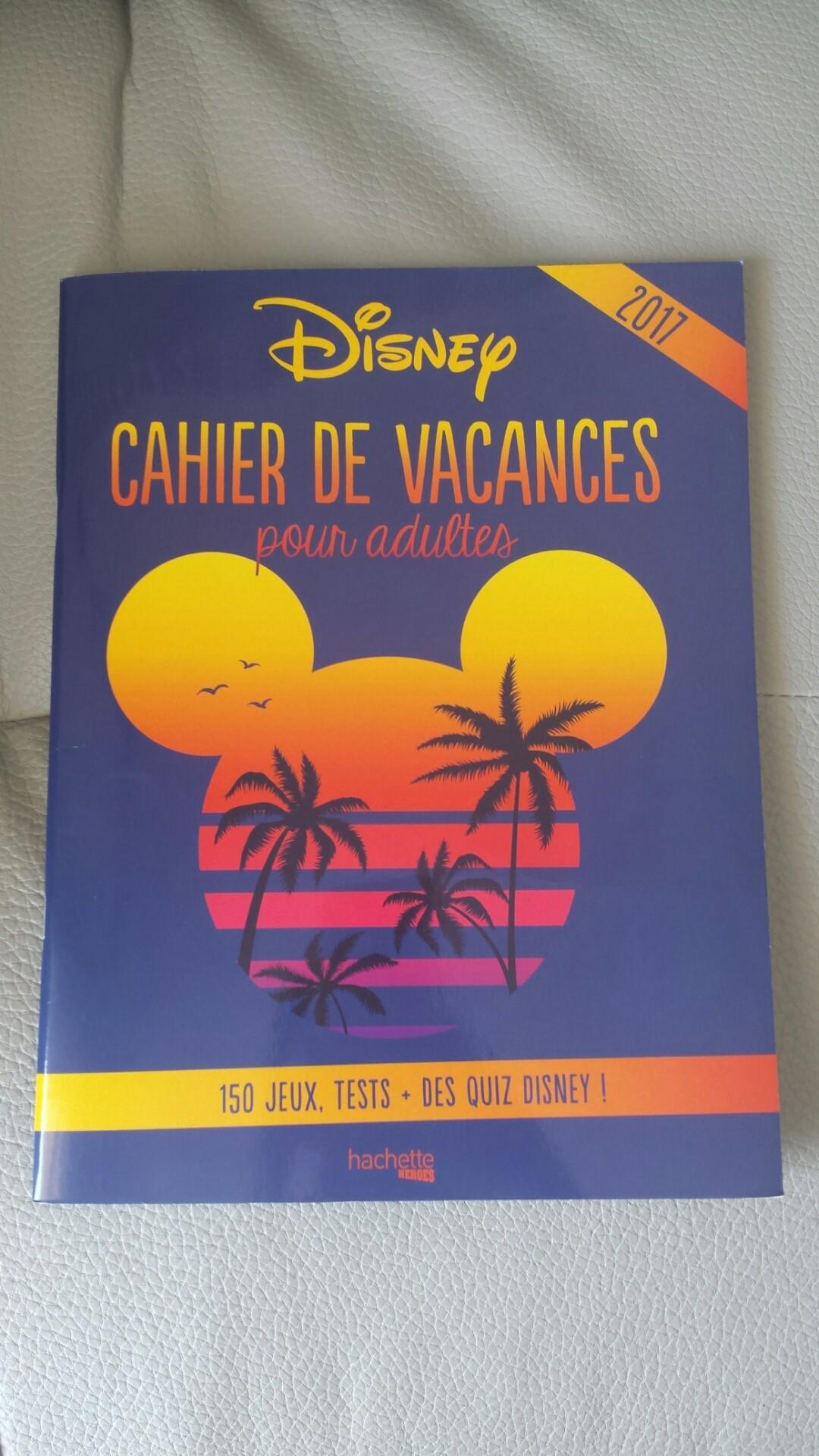 Cahier de vacances pour adultes Disney T1kI60