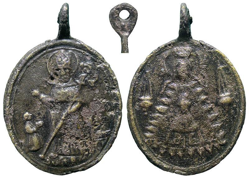 Santo a identificar / Notre-Dame de Liesse - MR749 Wyvfgy