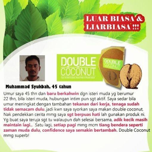 Double Coconut Original Murah | 100% Original Dgn Harga Prom XMj8Ed