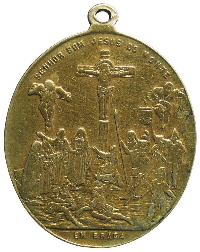 Bom Jesus de Braga / Inscripción con indulgencia - DI040 (R.M. SXIX-O98) YrLUv7
