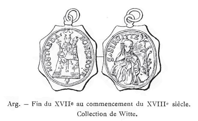 San Gisleno / Virgen con los Niños Jesús y Juan Bautista - MR(470)(R.M. SXVII-P113) HcTGgS