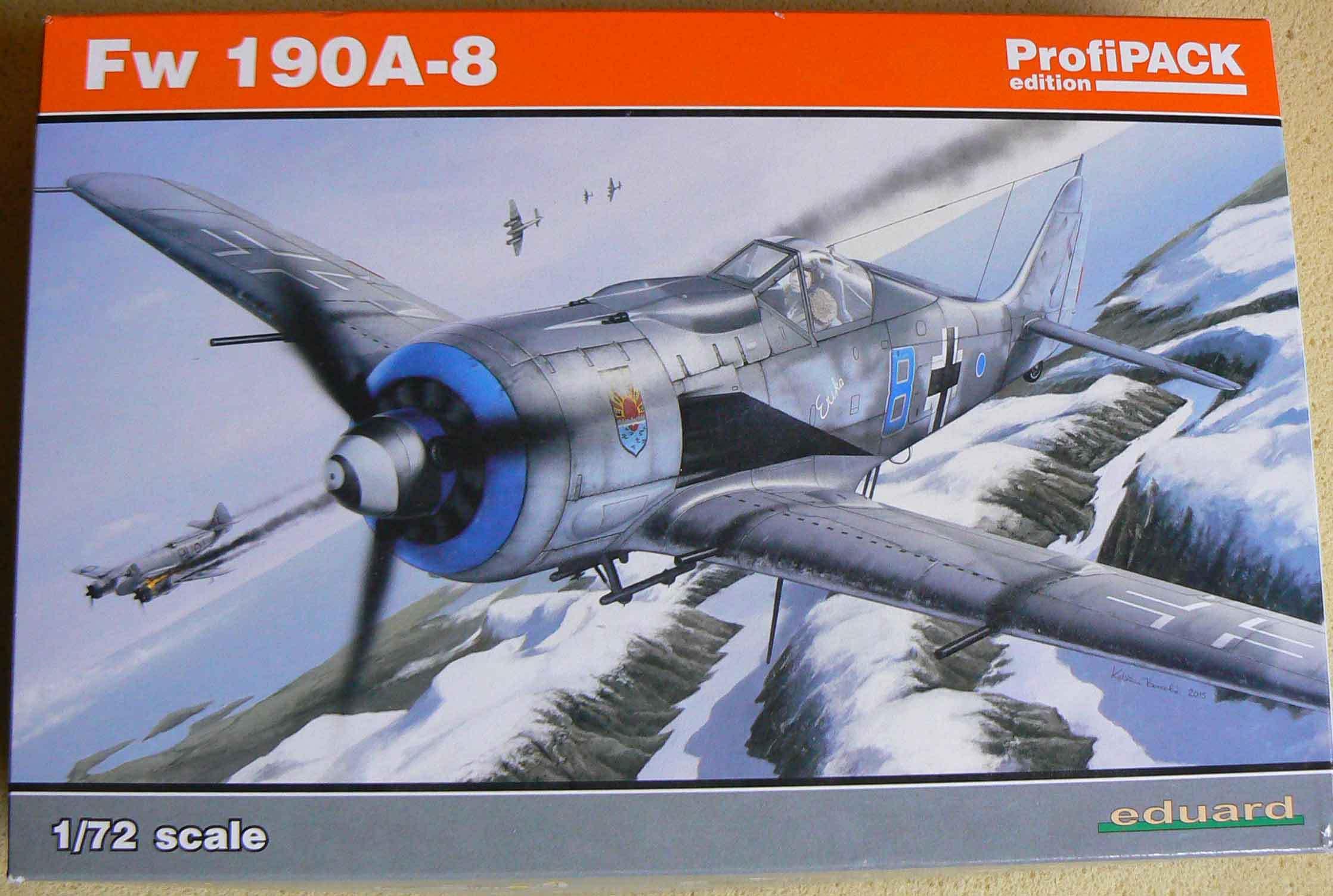 FW190 Eduard+PE&Brassin 1/72 IA4iZS