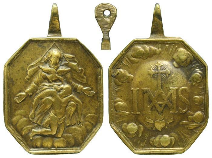 Santísima Trinidad / Emblema agustino - MR585, S. XVIII ( R.M. SXVIII-P106) JtX0ZN