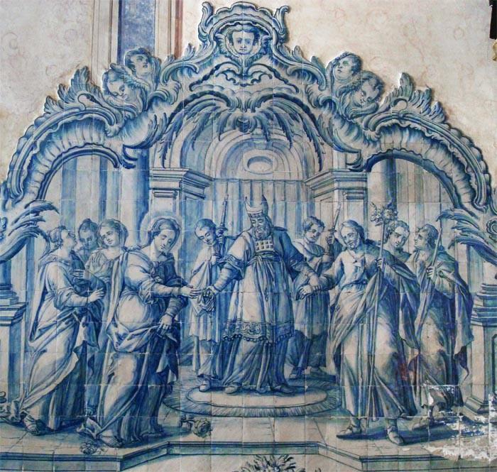 Matrimonio de San José y la Virgen María / Muerte de San José - MR616 (R.M. SXVII-O482) KIL31r