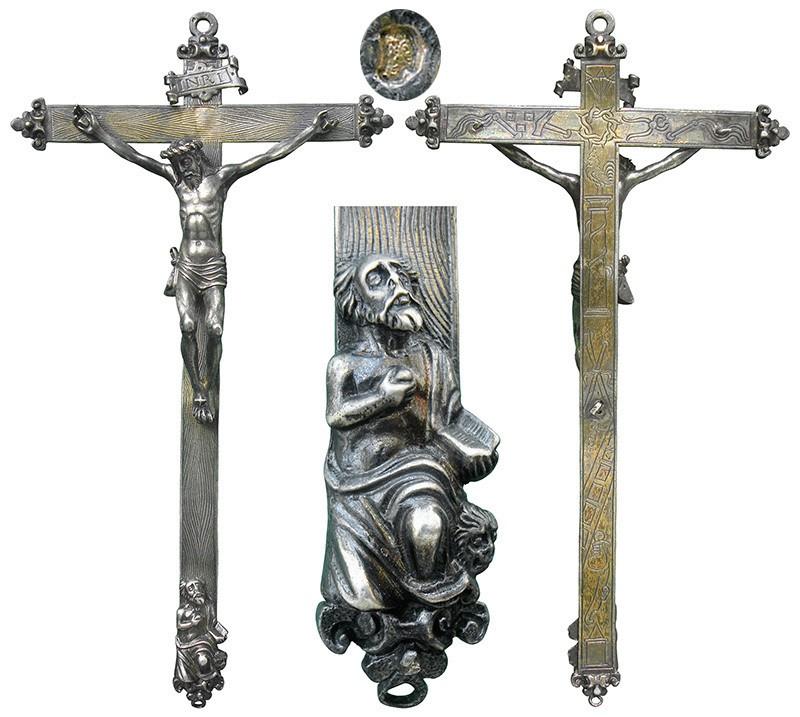 Cruz de estaño - OO047  KZALbt