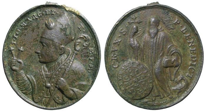 Medalla de San Juan Marcos  / S. Benito - s. XVIII - Página 2 NZYBrq