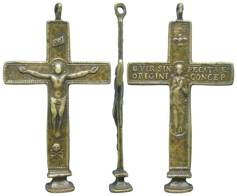 Crucifijo bifaz - CC132 -[ Pec040/S-XVIII] OTGYjx