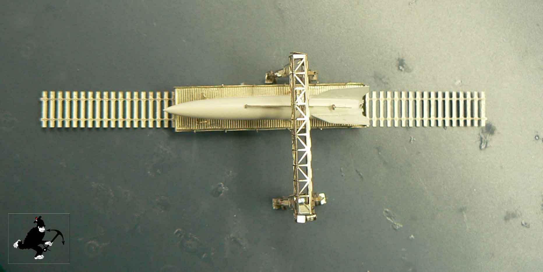 Fusée V2 - A4 au 1/350° S7DLS3
