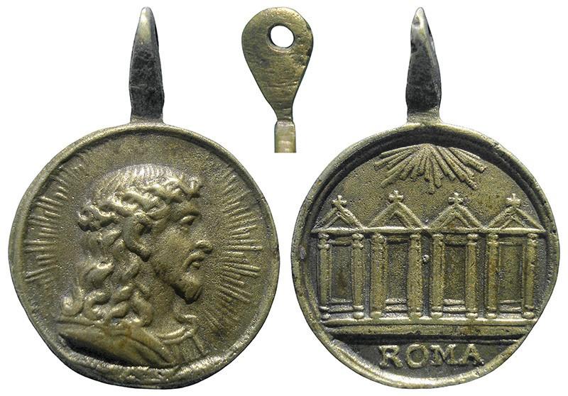 Salvator Mundi / Cuatro basílicas de Roma - MR753 (R.M. SXVII-C110) SMDhEF