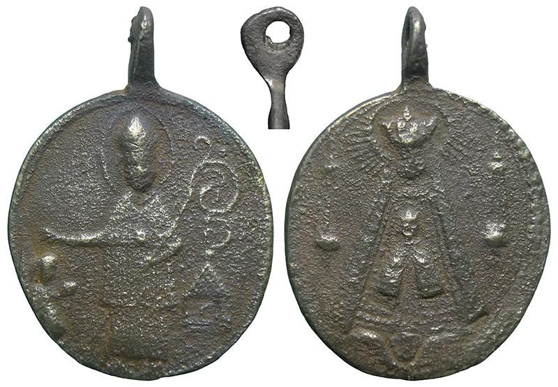 Santo a identificar / Notre-Dame de Liesse - MR749 StpOK2