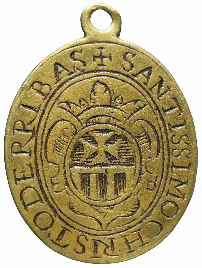Santísimo Cristo de los Afligidos / Escudo Mercedario - MR551- (R.M. SXVII-O446) X28Nkn