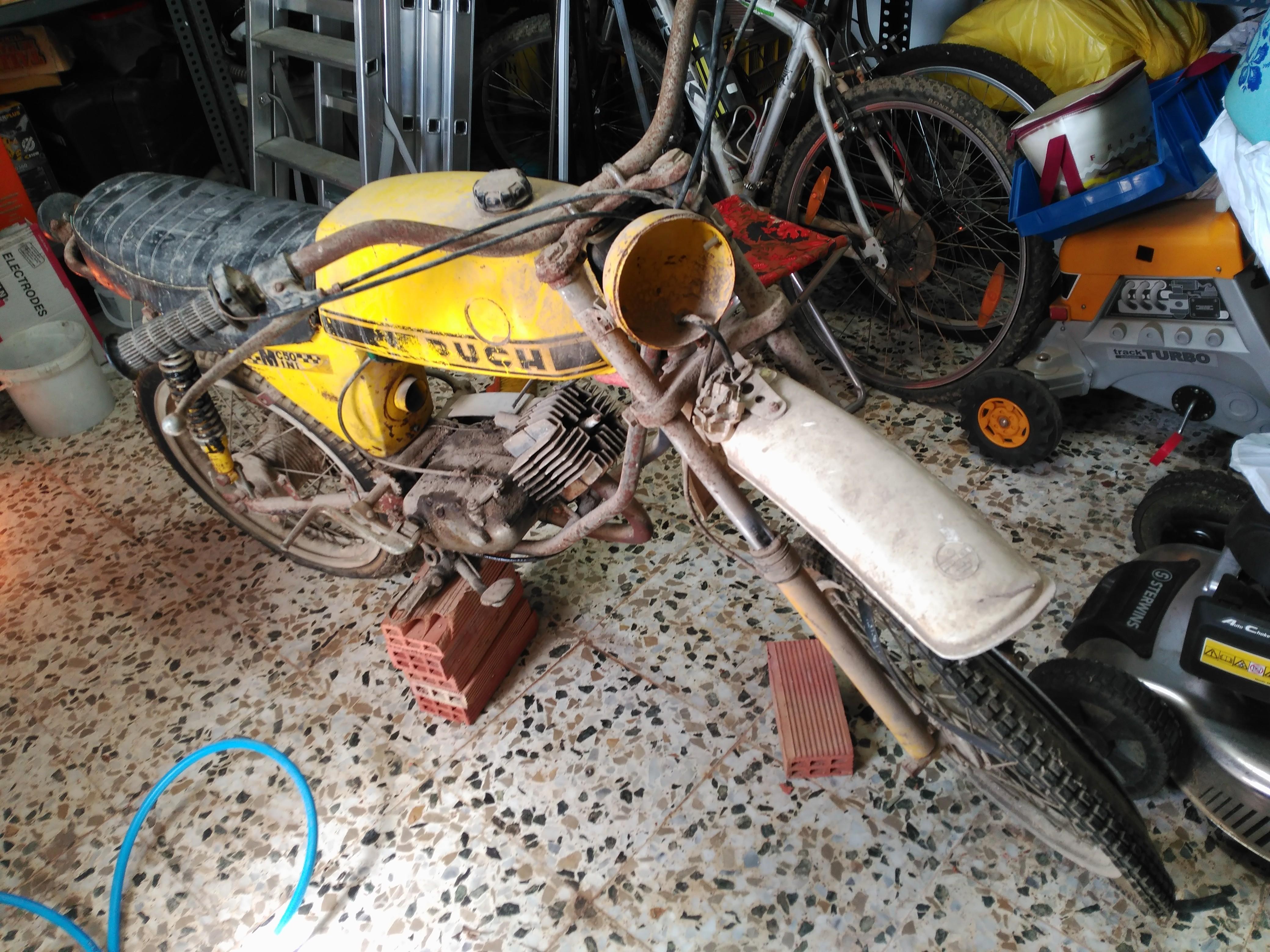 Restauración Puch Minicross 50 Mini Especial 0odoPf