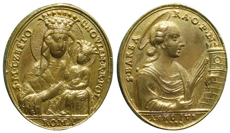 Jubileo de 1775 - Virgen de Czestochowa / Santa Bárbara - MR765 11l4xx
