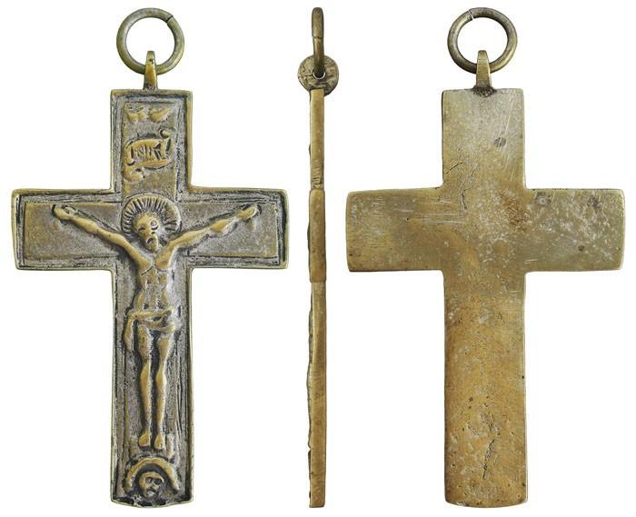 Crucifijo pectoral - CC097 1ks0u8