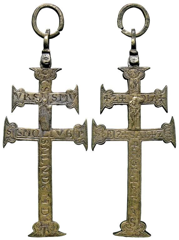 Cruz tipo patriarcal - CC138 5QHOhU