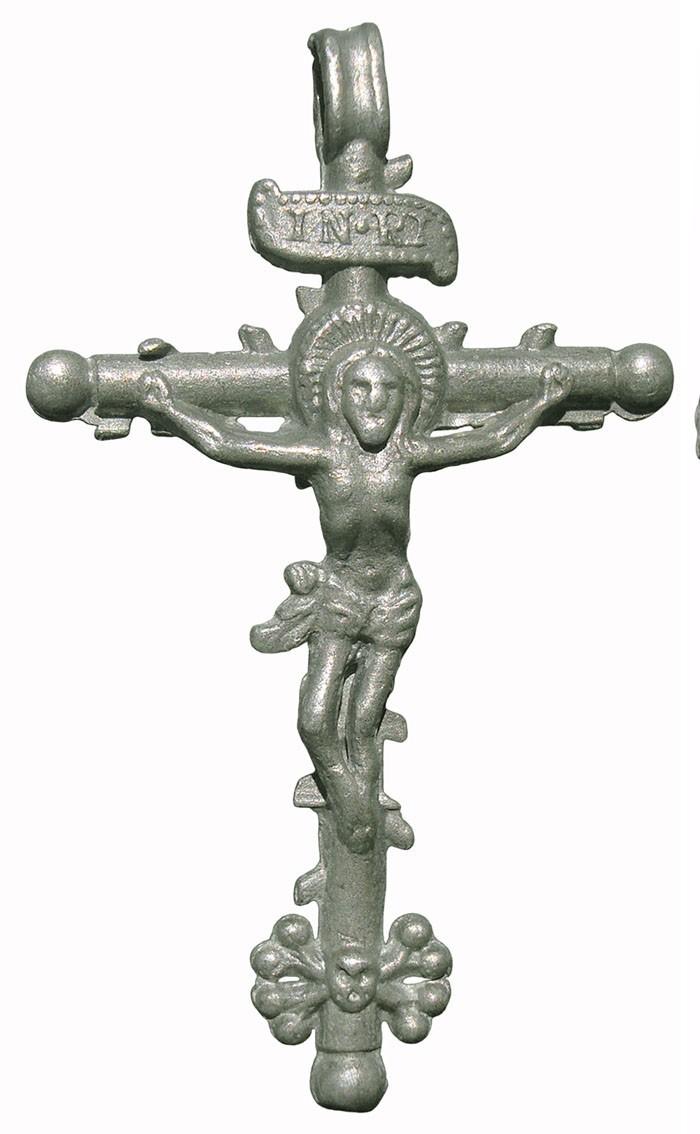 Crucifijos en plomo 9FTK4S