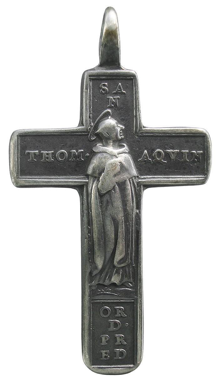 Santo Tomás de Aquino / Oración de Santo Tomás - MR722 BVbO7b