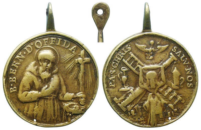 Beato Bernardo de Offida / Atributos de la Pasión de Cristo - MR760 (R.M. SXVIII-C190) EUHMfT