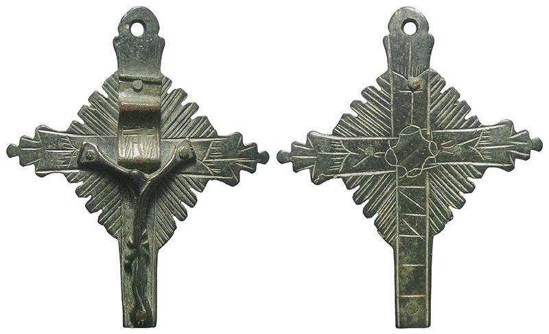 Crucifijo pectoral - CC121 FulVAn