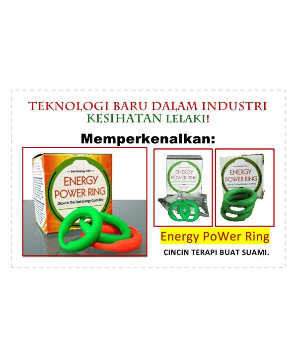 Energy Power Ring - size L and size XL available HpMa29