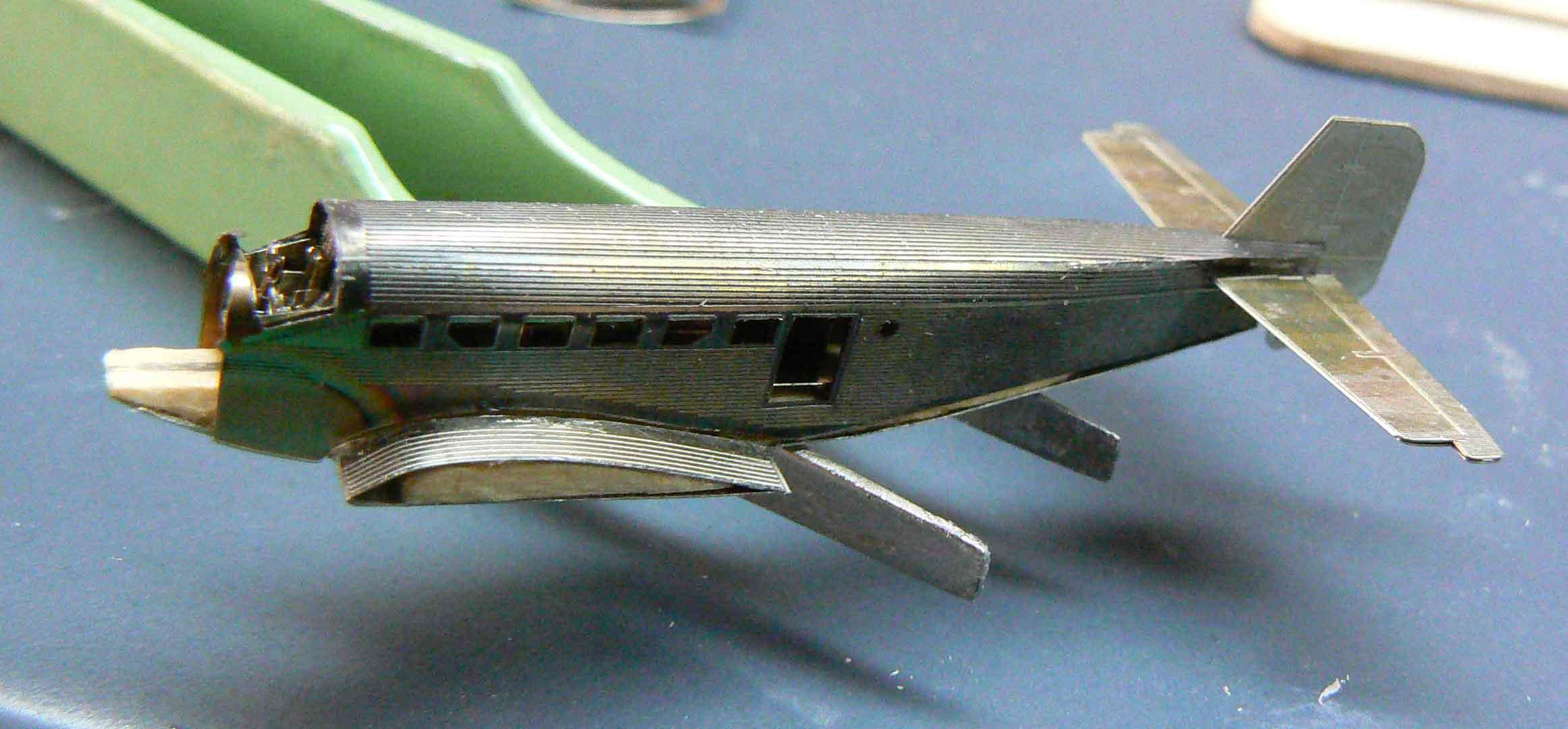 JU 52 1/350 en photodécoupe VithNn