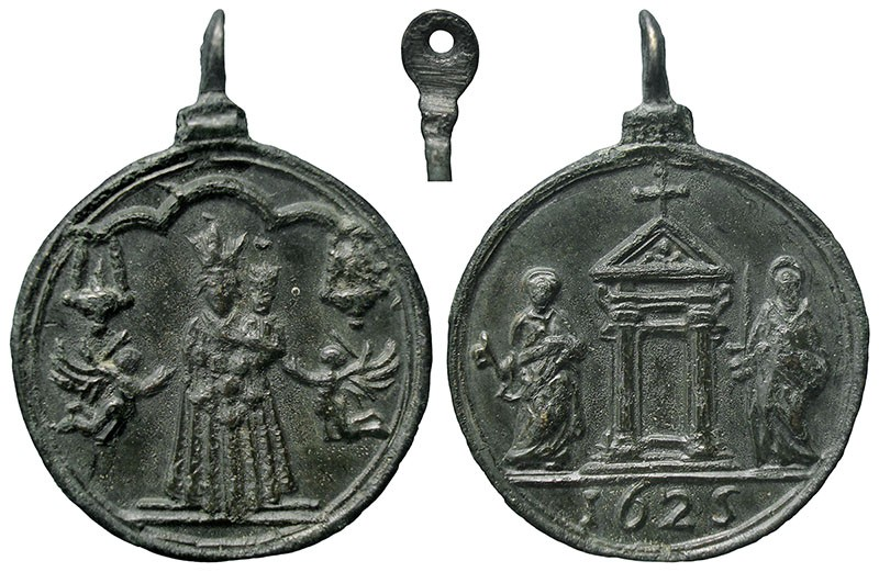 Jubileo de 1625 - Virgen de Loreto / Puerta Santa - MR745  (R.M. SXVII-C107) WvbOUb