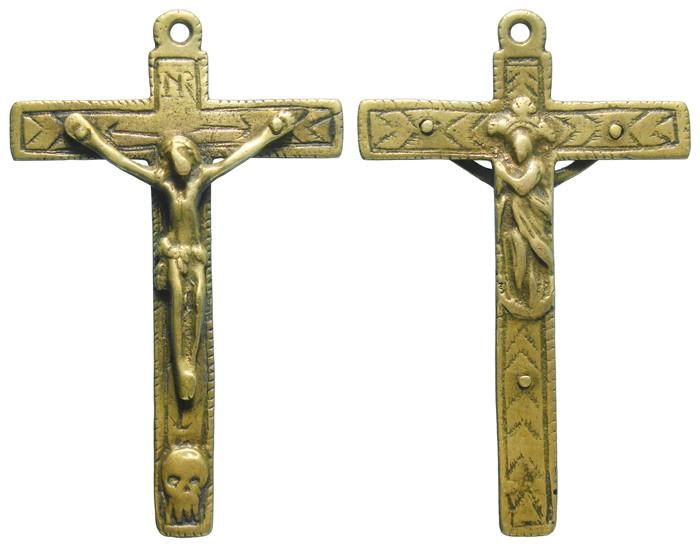 Crucifijo bifaz - CC114 XixxYH