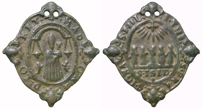 Virgen de  Loreto  / Cinco santos canonizados en 1622, (R.M. SXVII-O282)(Pe Loreto 44) YMRRGD