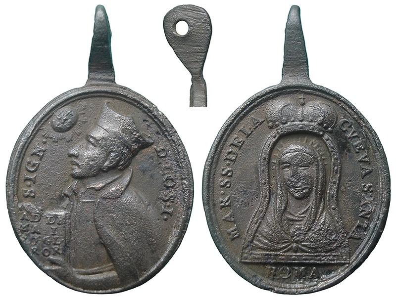 San Ignacio de Loyola / Virgen de la Cueva Santa - MR743 (R.M. SXVIII-O452) CYeVP3