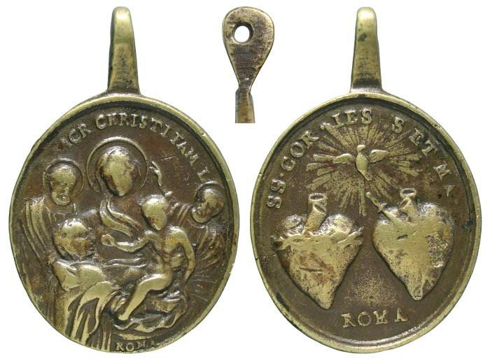 Sagrada Parentela / Corazones de Jesús y Maria - MR554 ( R.M. SXVIII-O359) CZpj7t