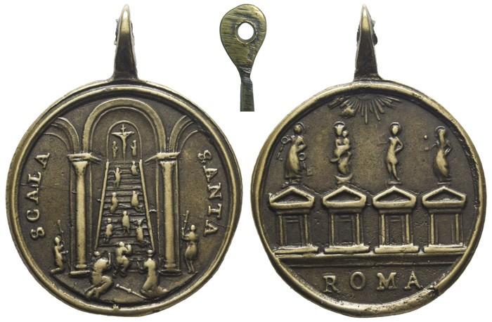 Jubileo Romano: Escalera Santa / Puertas Santas - MR643 (R.M. SXVIII-C161) DPRmfF