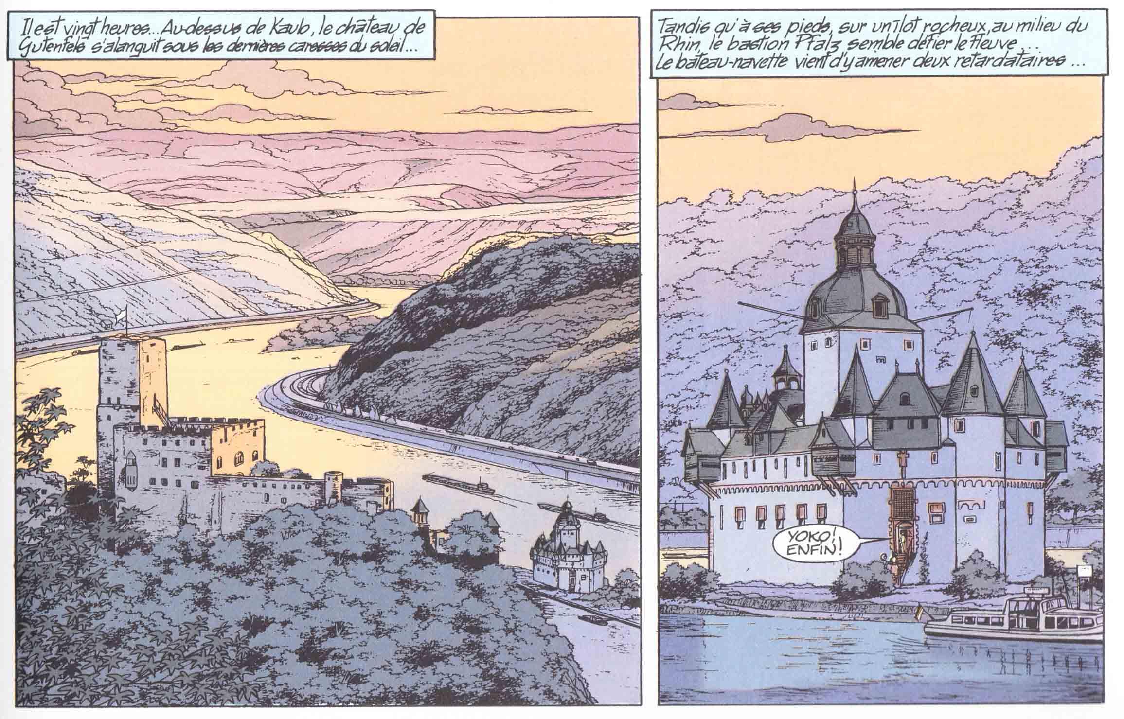Goethe, steamer du Rhin au 1/160 DPS3wv