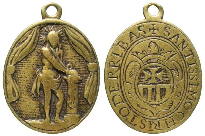 Santísimo Cristo de los Afligidos / Escudo Mercedario - MR551- (R.M. SXVII-O446) GiznLy