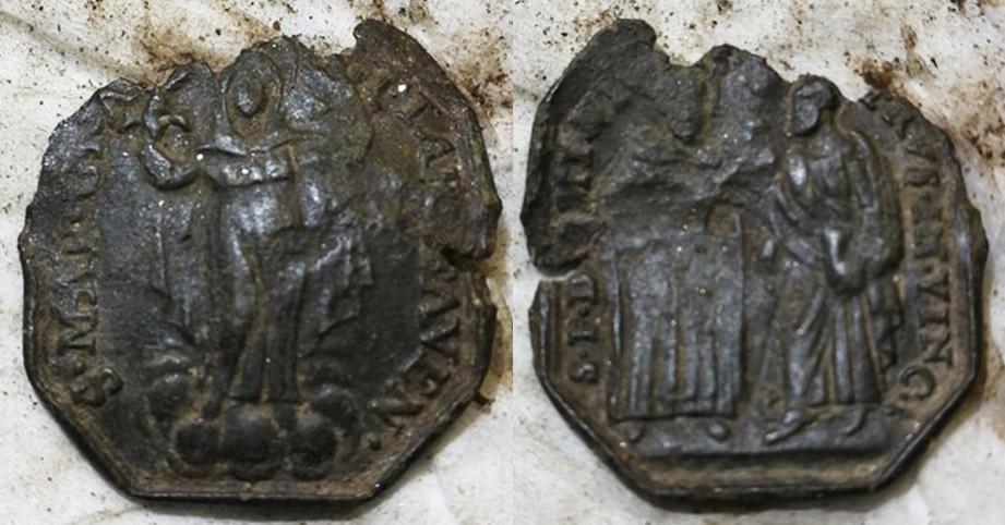 Santo Domingo de Guzmán y San Pedro encadenado / Virgen de  Gracia de Faenza,  S. XVII IGIJqM