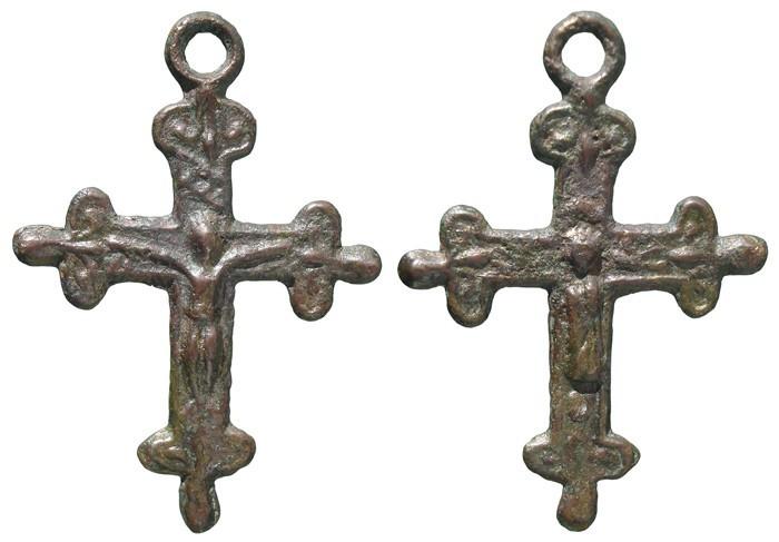 Crucifijo bifaz - CC102 Ilfyr5