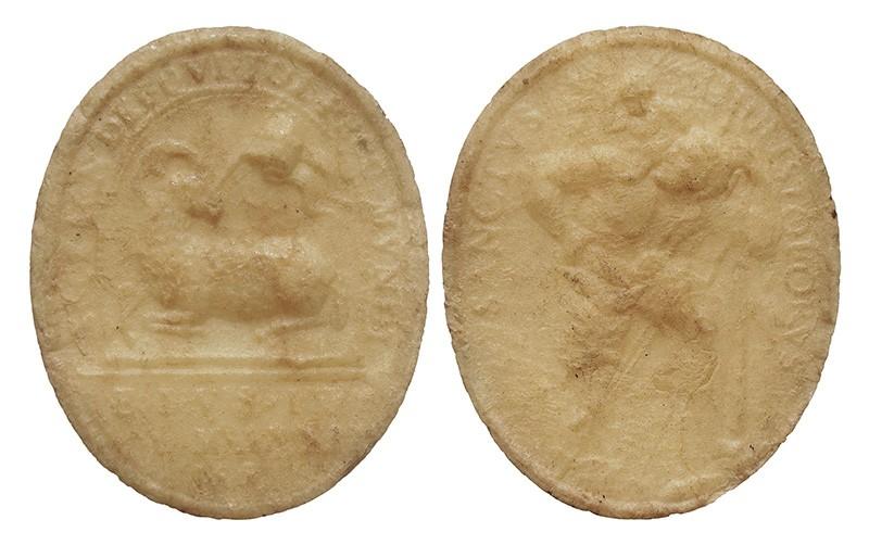 Medalla Agnus Dei  de cera - OO048 JsvAhF