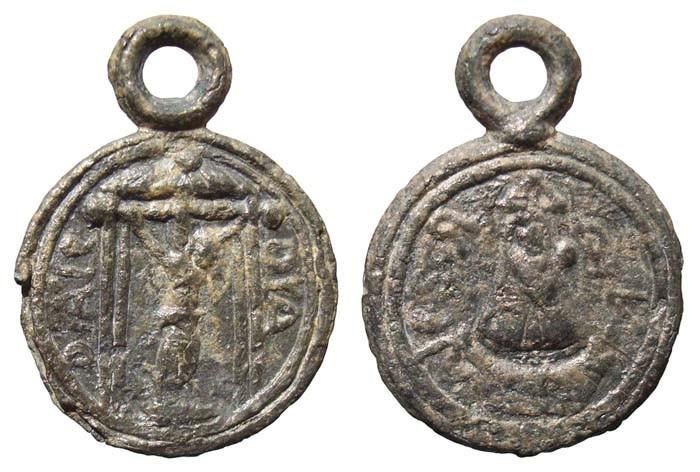 Medalla pequeña de plomo - MR(183) MxAM5f