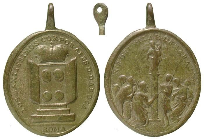 Los Sagrados Corporales de Daroca / Virgen del Pilar - MR516 (R.M. SXVIII-O326) PF3LrB
