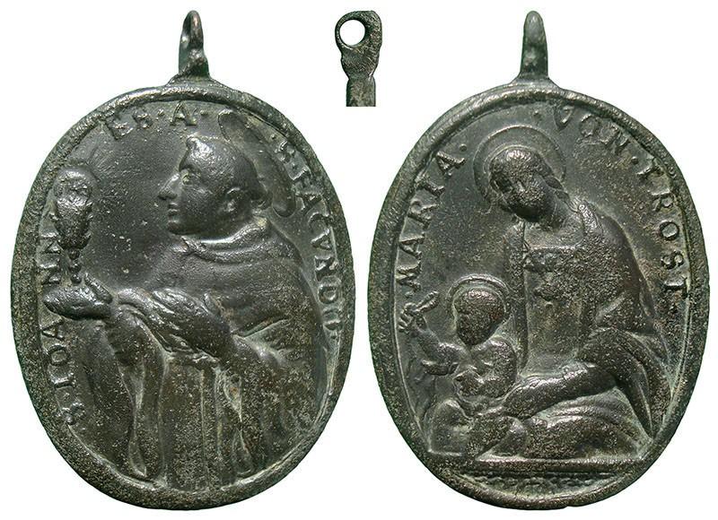 San Juan de Sahagún / Maria von Trost (Virgen Consolación y Correa), S. XVIII - MR797 Tx3UqW