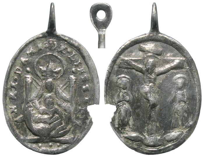 Notre-Dame de Liesse / Crucifixión de Jesús - MR638 (R.M. SXVIII-O410) XesrSv