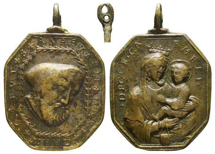 San Anastasio / Virgen del Carmen - MR589 (R.M. SXVII-P128) Y3SI8r