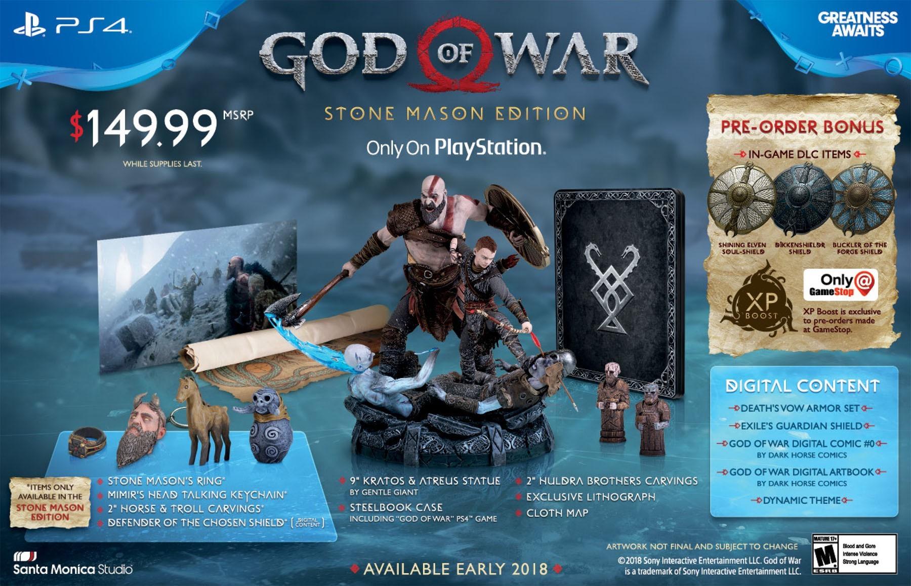 God of war [PS4] 1zty7c