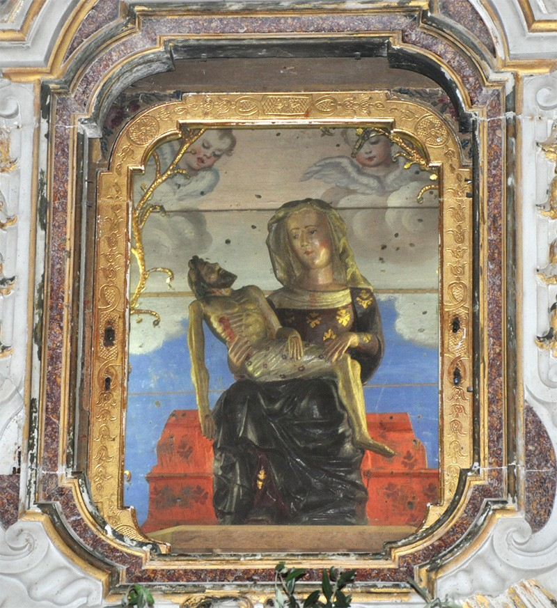 Madonna di Soviore / Monograma coronado de la Virgen María - MR746 2TuEVK