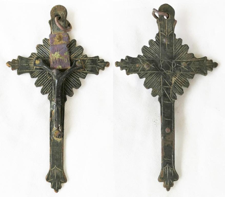 Crucifijo pectoral - CC121 53DdGM