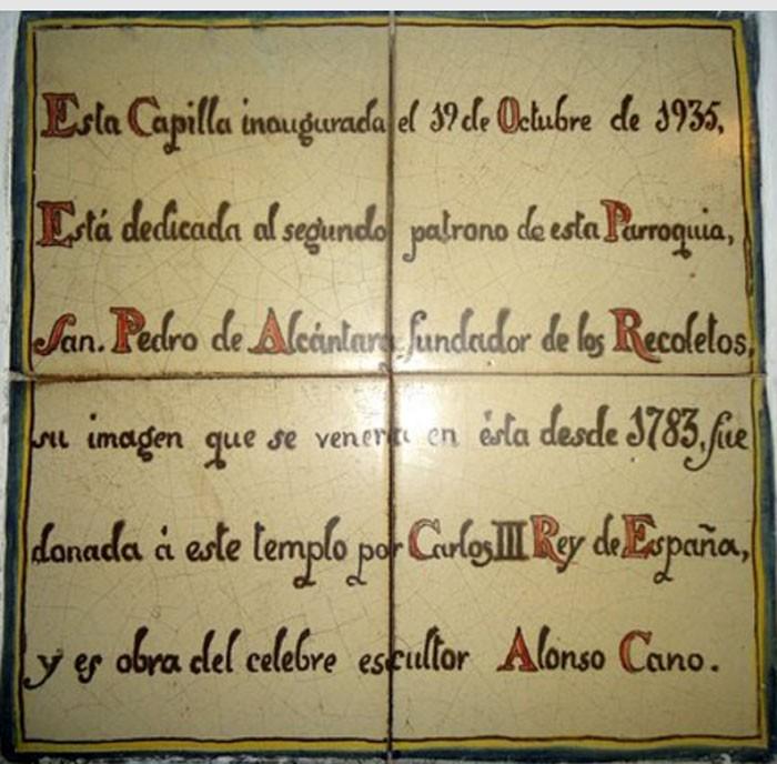 San Pedro de Alcántara / Mater Salvatoris - MR640 (R.M. SXVII-O493) 9Xtnoz