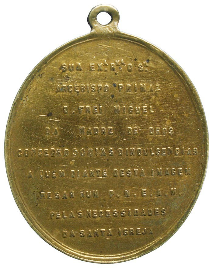 Bom Jesus de Braga / Inscripción con indulgencia - DI040 (R.M. SXIX-O98) ClMuOL