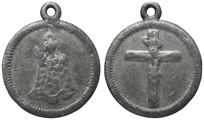 Virgen María / Jesús crucificado I4VVQ5