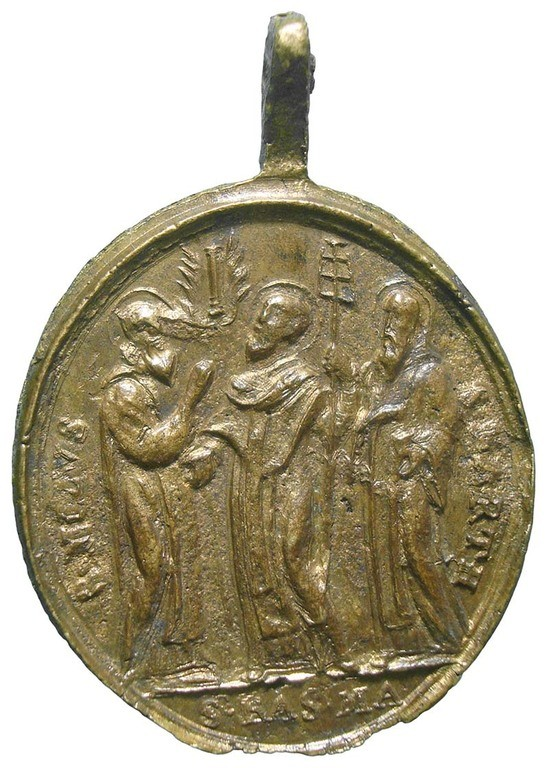 Santa Maria de Grottaferrata / Santos Basilio, Nilo y Bartolomé - MR764 (R.M. SXVIII-O472) (AM) LNjnuB